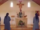 U Małych Sióstr Baranka w Choroniu